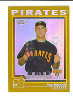 Paul Maholm 2004 Topps Chrome Gold Refractor Parallel Pittsburgh Pirates - $2.49