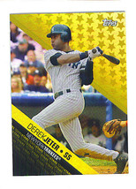 Derek JETER 2008 Topps STARS Insert Card New York YANKEES - $4.99