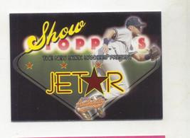 Derek Jeter 2005 Fleer Showstoppers Insert Card New York Yankees - $4.99