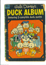 Walt DISNEY's DUCK ALBUM 1952 Dell Four Color Comic Issue 450 Donald DUC... - $4.99