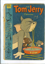 Tom And Jerry April 1954 Dell Comic Issue 117 Big Spike Little Tyke Flip N Dip - £4.47 GBP