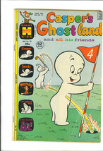 CASPER'S GHOSTLAND 1973 Harvey Comic Book SPOOKY Casper the Friendly GHOST - $6.99