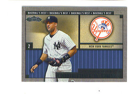 Derek Jeter 2002 Fleer Showcase Baseballs Best Insert Card New York Yankees - $6.99