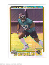 Eric WESTMORELAND 2001 Topps Chrome SHORT PRINT Rookie 706/999 JAGUARS - $6.99