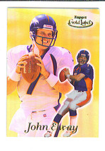 John ELWAY 1999 Topps Gold Label CLASS 3 Parallel Card 99 Denver BRONCOS - $9.99