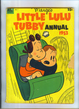 Marge'S Little Lulu Tubby Annual 1953 Issue 1 Comic Book 96 Pages Dell Giant - $29.99