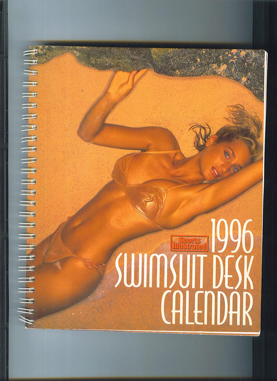 Last Year Calendar : Swimsuit desk calendar rebecca romijn kathy ireland