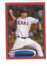 Mike ADAMS 2012 Topps Target RED BORDER Parallel Card 8 Texas RANGERS - $1.68