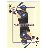 Alex RODRIGUEZ 2000 Pacific Invincible KINGS OF THE DIAMOND Insert Card ... - $1.99