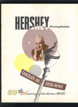 HERSHEY Pennsylvania Orig 1953 Special 50th Anniversary Publication AHL ... - $24.99