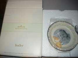 HALLMARK Keepsake Baby's Special Moment Frame, with box and insert complete - $28.94