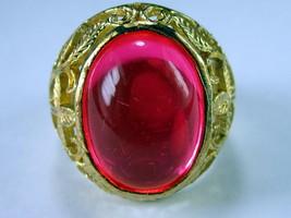 Very Rare! Holy Magic Pink Tapayanak Naga Eye Ring Rich Thai Buddha Amulet - $19.99