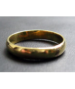 VERY RARE! HOLY MAGIC LUCKY WEALTH RICH GOLD RING THAI BUDDHA AMULETS - $14.99