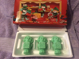 "Vintage Avon Merry Elfkins Three ""Festive"" Fragranced Soaps New in Box E... - $14.99"