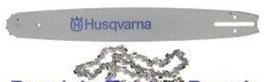"""Husqvarna 24"""" Bar Chain Combo .050"""" 372 390 570 XP XPG - $149.89"""