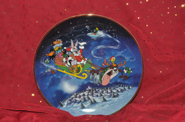 What's up Santa?  Limited Edition Franklin Mint plate - $28.04