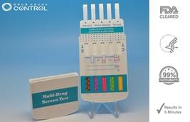 5 Pack 10 Panel Home Drug Testing Kits - 5 Instant Drug Tests - Free Shipping! - $17.44