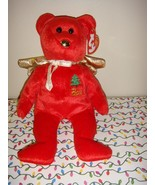Ty Beanie Baby Gift Red Peace Angel Bear - $7.89
