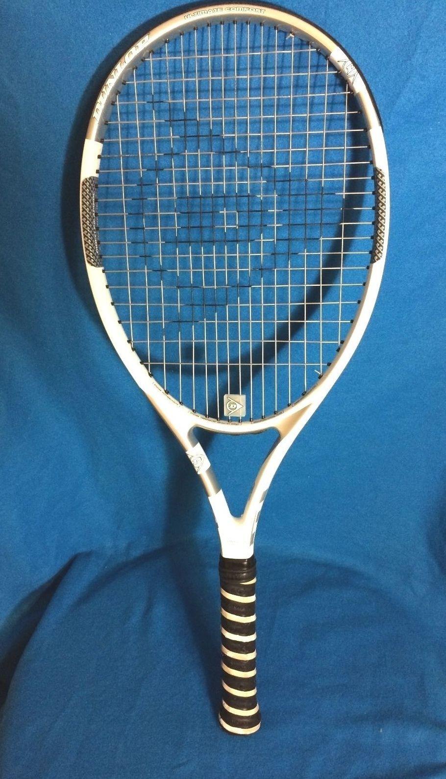 Brand New M-fil Dunlop Lady M-fil tennis racquet 4 3//8,w// new Back Pack complete
