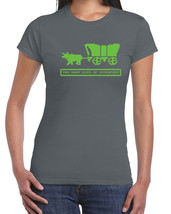 202 Died of Dysentery womens T-shirt Oregon video game trail ALL SIZES/C... - $15.00