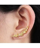 Mini Branch Stud Earring with Rhinestone - $4.99