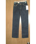 Levi's Girl's Slim Straight, Adjustable Waist Jeans, Size 10 Regular, NWT - $25.99
