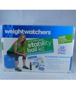 Weight Watchers Pick Your Spot Stability Ball Kit DVD Four Exercise Work... - $7.83