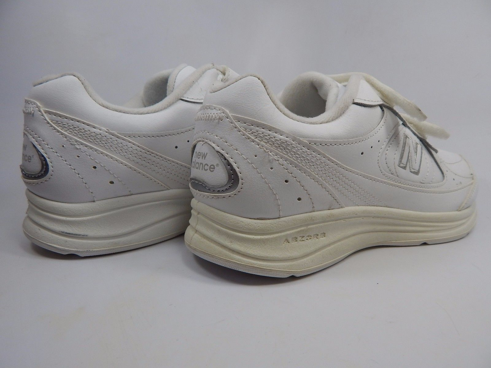 New Balance 577 Women's Walking Shoes Sz US 7 D WIDE EU 37.5 White WW577VW