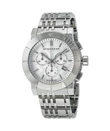 Brand New Burberry BU2303 Men's Trench Chronograph White Dial Watch  - $305.99
