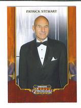 Patrick STEWART 2009 Donruss Americana Trading Card Star TREK Next Gener... - $0.99
