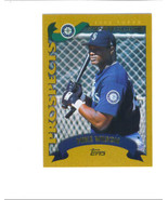 Mike WILSON 2002 Topps Traded GOLD Parallel Card T223 Seattle MARINERS 1466/2002 - $2.99