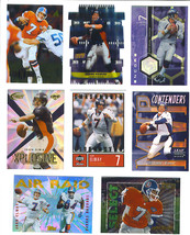 John Elway Shannon Sharpe 1995 Topps Air Raid Insert Card Denver Broncos - $9.99