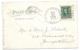 1907 Mount Healthy, OH Discontinued/Defunct Post Office (DPO) Postcard - $9.95