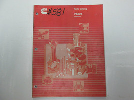 Cummins VTA28 Construction Parts Catalog Manual Book CUMMINS USED OEM - $79.15