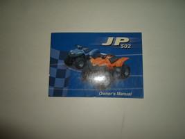 Dinli All Terrain Vehicle JP-502 ATV Owners Manual FACTORY OEM DEALERSHIP - $14.80