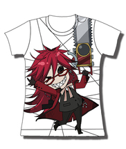 Black Butler: Grell w/ Chainsaw JRS T-Shirt GE59666 *NEW* - $26.99