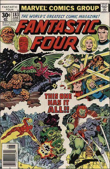 Marvel FANTASTIC FOUR (1961 Series) #183 FN+