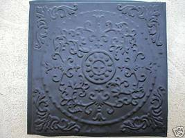 "ANTIQUE ENGLISH FLOWER DESIGN STEPPING STONE MOLD - 24""x 24""x 2.5"" - #SS-2424B  image 2"