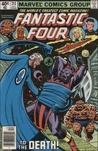 Marvel FANTASTIC FOUR (1961 Series) #213 VF/NM - $4.59