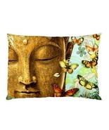 BUTTERFLY BUDDHA Pillow Case (One Side) Home Decor Gift model 34762786 - $19.95