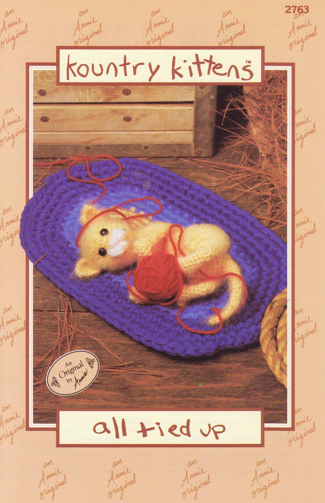 ... Pattern All Tied Up Annies Attic Doll Toy Annies Attic - Patterns