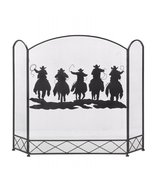 Western Cowboys Fireplace Screen - $82.00