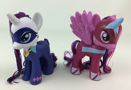 My Little Pony Power Ponies Twilight Sparkle and Rarity 2pc Lot Doll Has... - $19.55