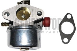 Carburetor w Gasket Parts For Tecumseh 5HP 6HP 6.5HP 193cc OHV Engine Go Kart - $41.53