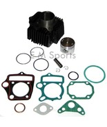 Cylinder Piston Kit w Rings For Honda CL70 CT70 SL70 Mini Trail Bike Mot... - $44.50