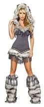 Roma Native American Temptress Halloween Costume W/WO LEG WARMERS S M L ... - $85.00