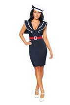 Sexy Roma 3PC Captains Choice Sailor Halloween Complete Costume S M 4285 - $65.00