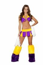 Sexy Roma Cheerful Cutie Cheerleader Halloween Costume W/WO WARMERS S/M ... - $50.00+