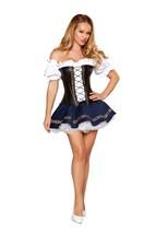 Sexy Roma Beer Maiden Baby Oktoberfest Alpine Costume W/WO PETTICOAT S M... - $70.00+