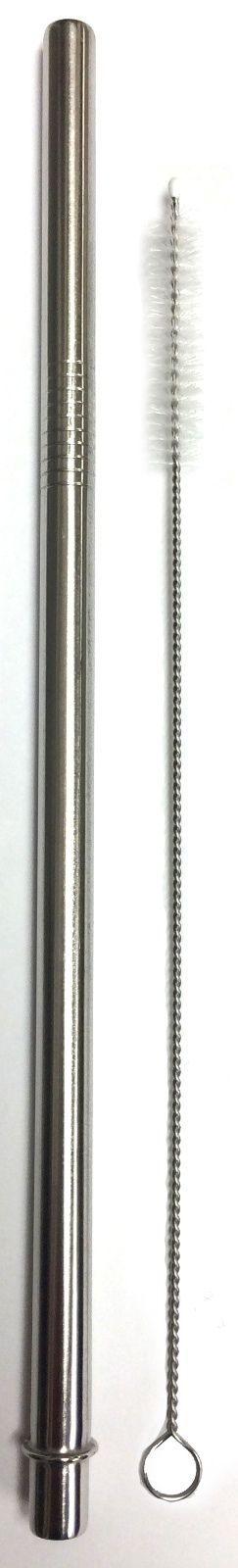2 Starbucks Replacement Straws Stainless Steel Reusable, Washable Drinking Straw
